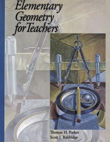 9780974814056: Title: Elementary Geometry for Teachers