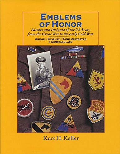 Patches and Insignia of the US Army: Kurt H. Keller