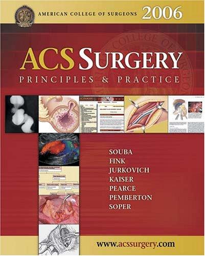 9780974832791: ACS Surgery: Principles & Practice