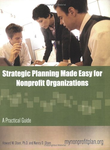 9780974834344: Strategic Planning Made Easy for Nonprofit Organizations