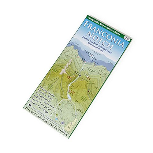 9780974843988: Franconia Notch Map & Guide