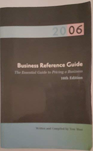 9780974851808: The Business Reference Guide