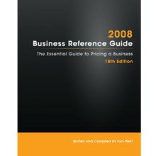 9780974851853: The 2008 Business Reference Guide: The Essential Guide to Pricing a Business