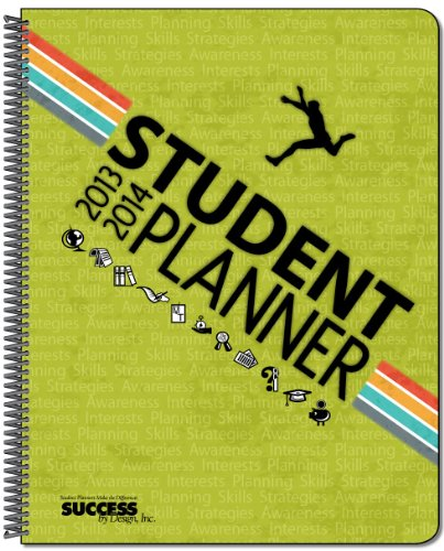 9780974852157: 2013-14 High School Student Planner- 650D-The Study Series-Dated 7 x 9