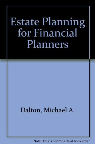 9780974894522: Estate Planning for Financial Planners