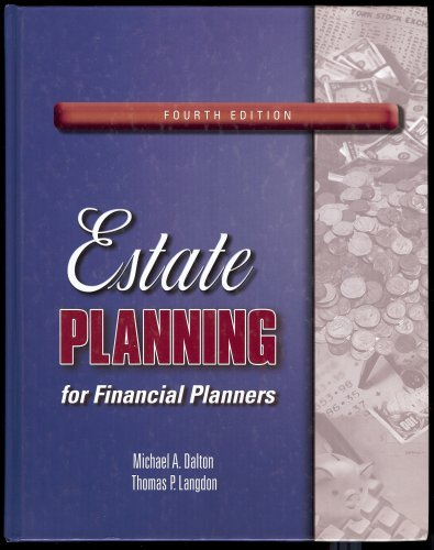 9780974894560: Estate Planning for Financial Planners