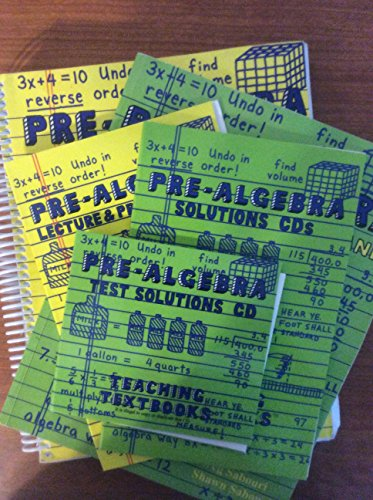 Pre-algebra a Teaching Text Book: Greg Sabouri and