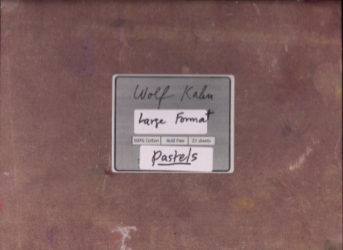 Wolf Kahn: Large Format Pastels: Wolf Kahn