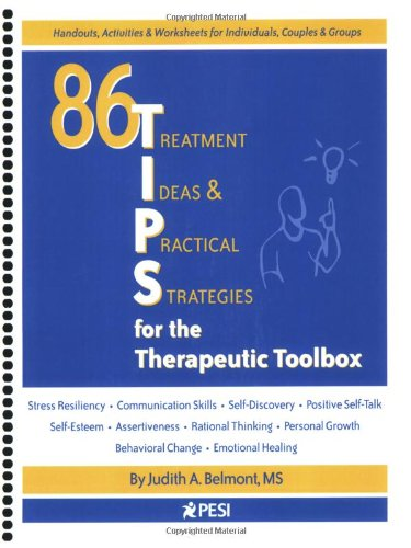 9780974971193: 86 TIPS (Treatment Ideas & Practical Strategies) for the Therapeutic Toolbox