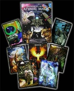 9780975062821: Earth and Mythical Animal Magic Oracle Cards