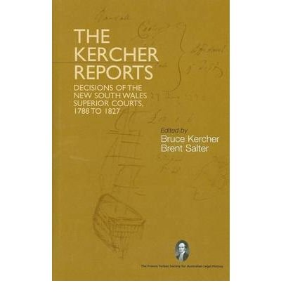 9780975110355: The Kercher Reports
