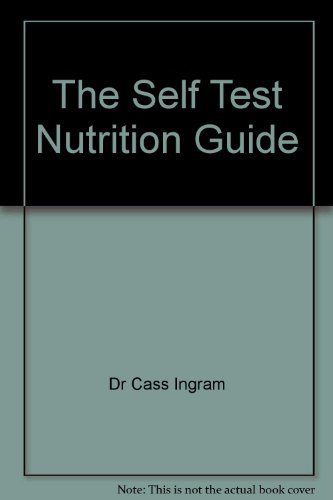 9780975116340: The Self Test Nutrition Guide