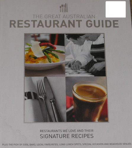The Great Australian Restaurant Guide