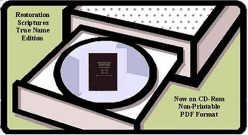 9780975251447: Restoration Scriptures, True Name Edition