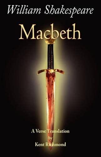 9780975274385: Macbeth: A Verse Translation (Enjoy Shakespeare)