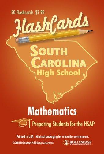South Carolina HSAP Test Mathematics Flashcards