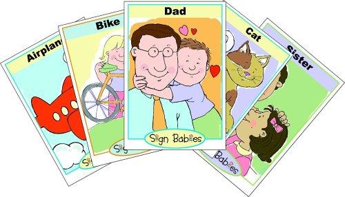 9780975329948: Sign Babies ASL Flash Cards Collection Sets 1-4