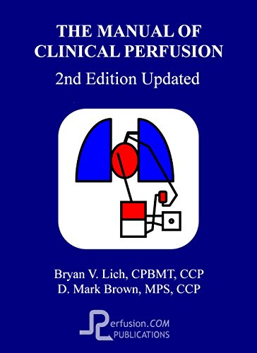 9780975339602: The Manual of Clinical Perfusion (Second Edition Update)
