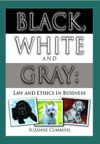 9780975366011: Black, White and Grey: Law and Ethics in Business