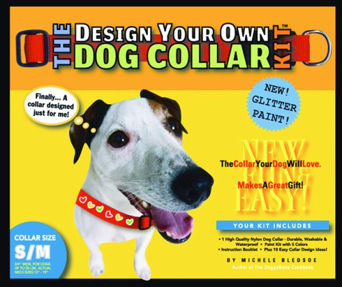 9780975388358: The Design Your Own Dog Collar Kit (Glitter Version, S/M Collar Size)