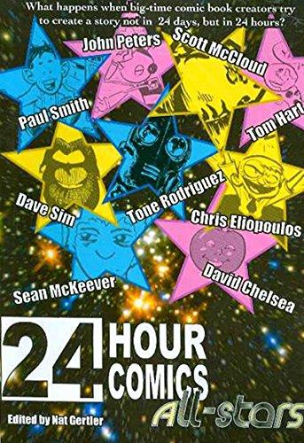 24 Hour Comics All-Stars: Chris Eliopoulos,Sean McKeever,Tom