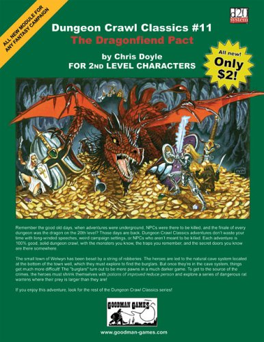 9780975415641: Dungeon Crawl Classics #11: The Dragonfiend Pact
