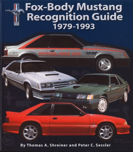 9780975436011: Fox-Body Mustang Recognition Guide 1979-1993