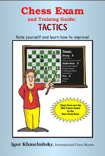 9780975476116: Chess Exam and Training Guide: Tactics: Rate Yourself and Learn How to Improve!
