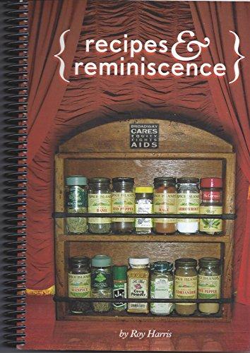 Recipes and Reminiscence : A Celebration of: Roy Harris