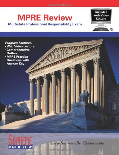 9780975496947: Supreme Bar Review MPRE Review