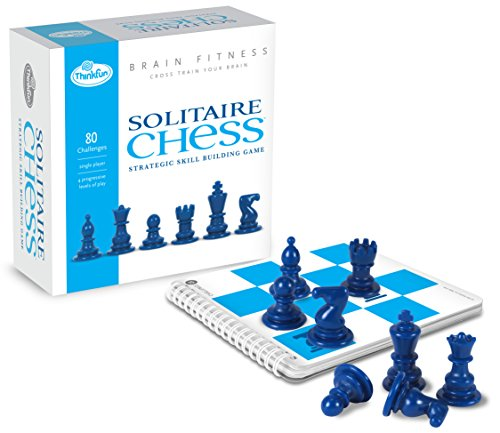 9780975533031: ThinkFun Brain Fitness Solitaire Chess - Fun Version of Chess You Can Play Alone, Toy of the Year Nominee