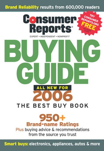 9780975538838: Consumer Reports Buying Guide