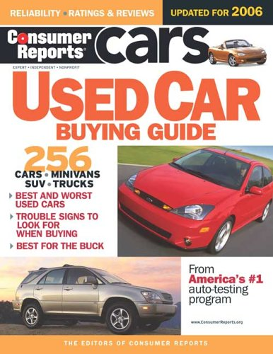 9780975538869: Consumer Reports Used Car Buying Guide