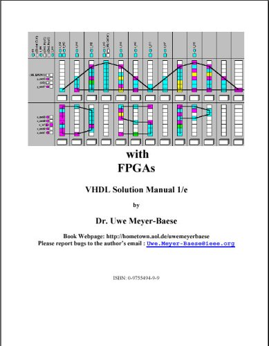 DSP with FPGAs: VHDL Solution Manual, First Edition: Uwe Meyer-Baese