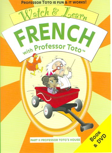 9780975565902: Watch & Learn French With Professor Toto, Part 2: Professor Toto's House
