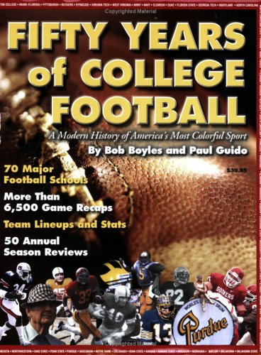 9780975568408: Fifty Years of College Football