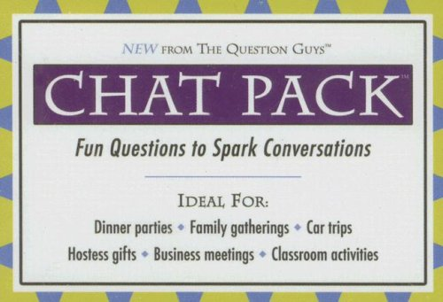 9780975580165: Chat Pack: Fun Questions to Spark Conversations