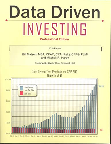 Data Driven Investing (Professional Edition): Matson, Bill; Hardy,