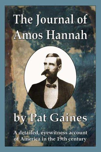 9780975588895: The Journal of Amos Hannah