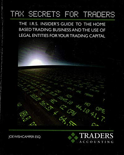 9780975850404: Tax Secrets for Traders