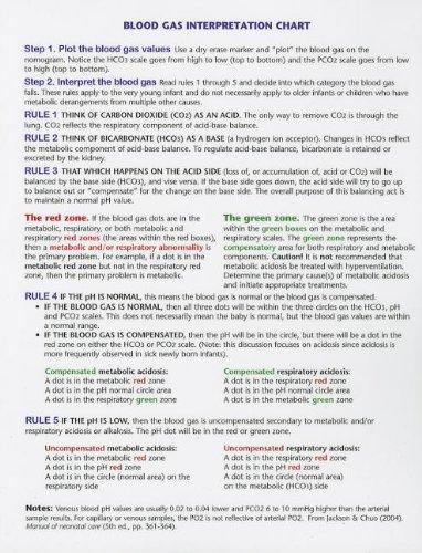 9780975855973: S.T.A.B.L.E Blood Gas Interpretation Chart