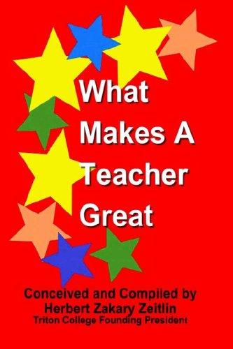 What Makes A Teacher Great: Herbert Zakary Zeitlin;