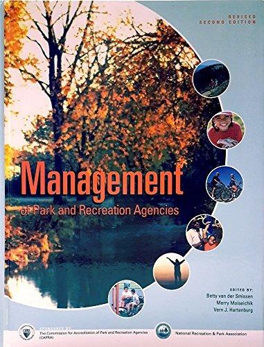 Management Of Park And Recreation Agencies: Betty van der