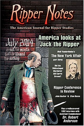 9780975912904: Ripper Notes: America Looks at Jack the Ripper: Issue 19
