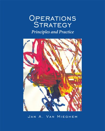 9780975914663: Operations Strategy: Principles and Practice [Gebundene Ausgabe] by Jan A. Va...