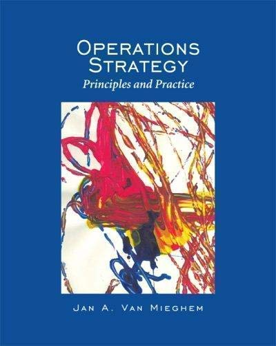 9780975914663: Operations Strategy: Principles and Practice