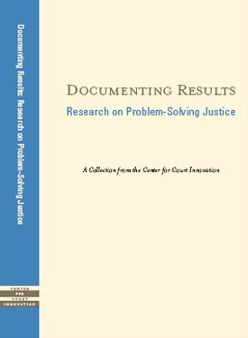 9780975950517: Documenting Results: Research on Problem-Solving Justice