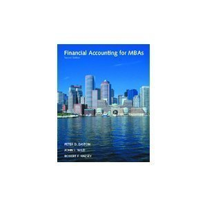 Financial Accounting for MBAs: Easton; Wild; Halsey