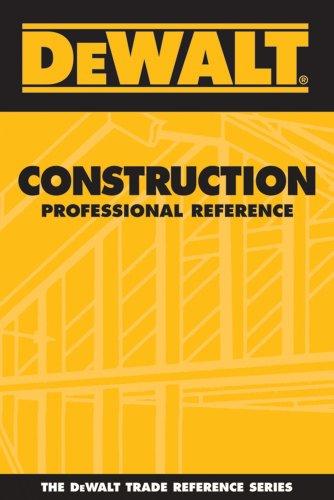 9780975970980: DEWALT Construction Professional Reference (DEWALT Series)