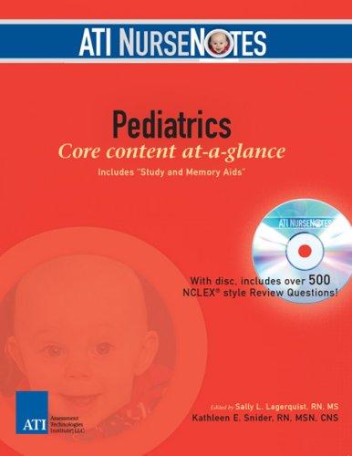 Ati Nursenotes Pediatrics (Paperback)